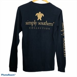 Simply Southern Sea Turtle Long Sleeve Tee T-Shirt